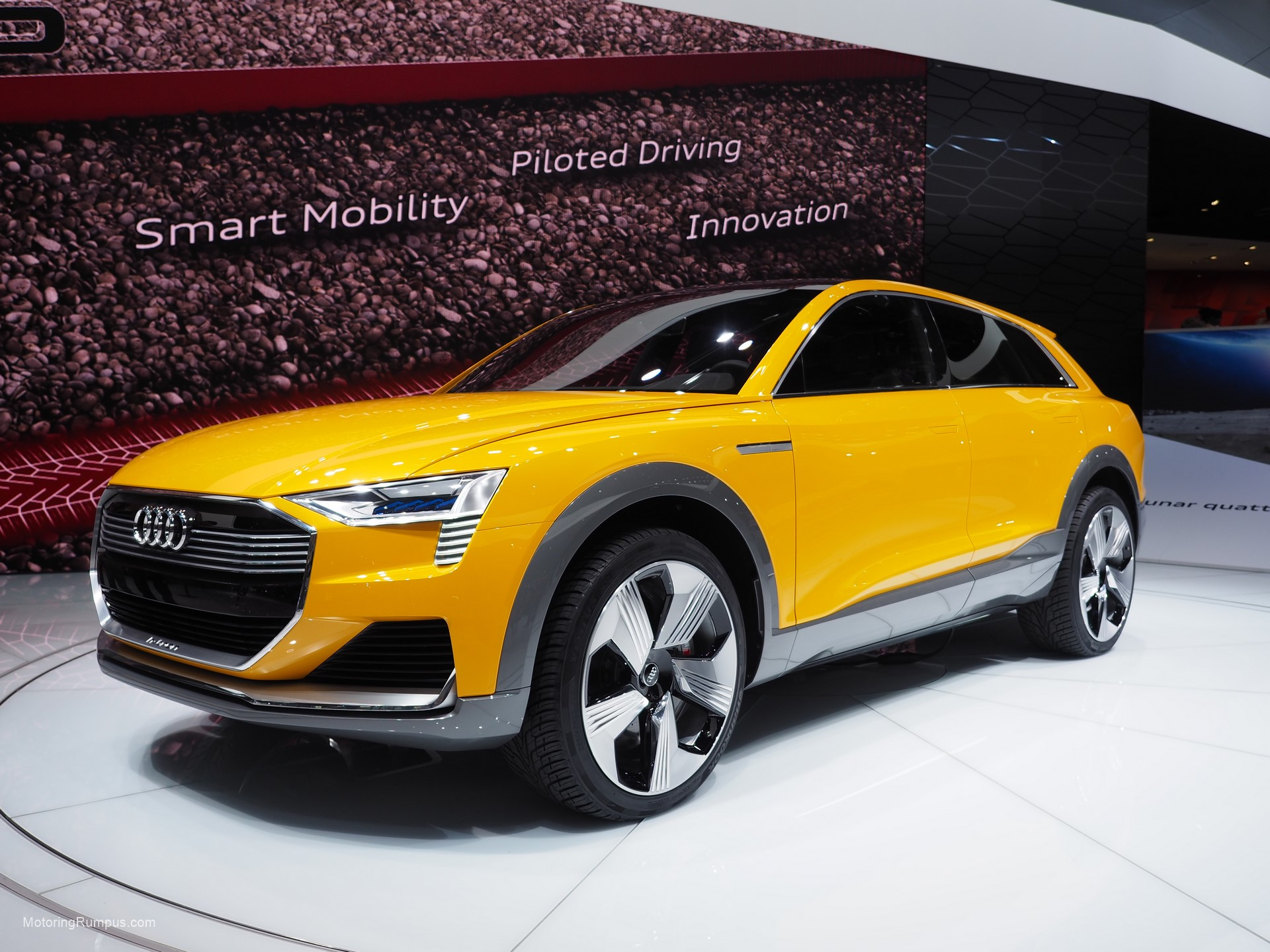 2016 NAIAS Audi h-tron quattro concept