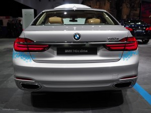 2016 NAIAS BMW 740e xDrive Rear