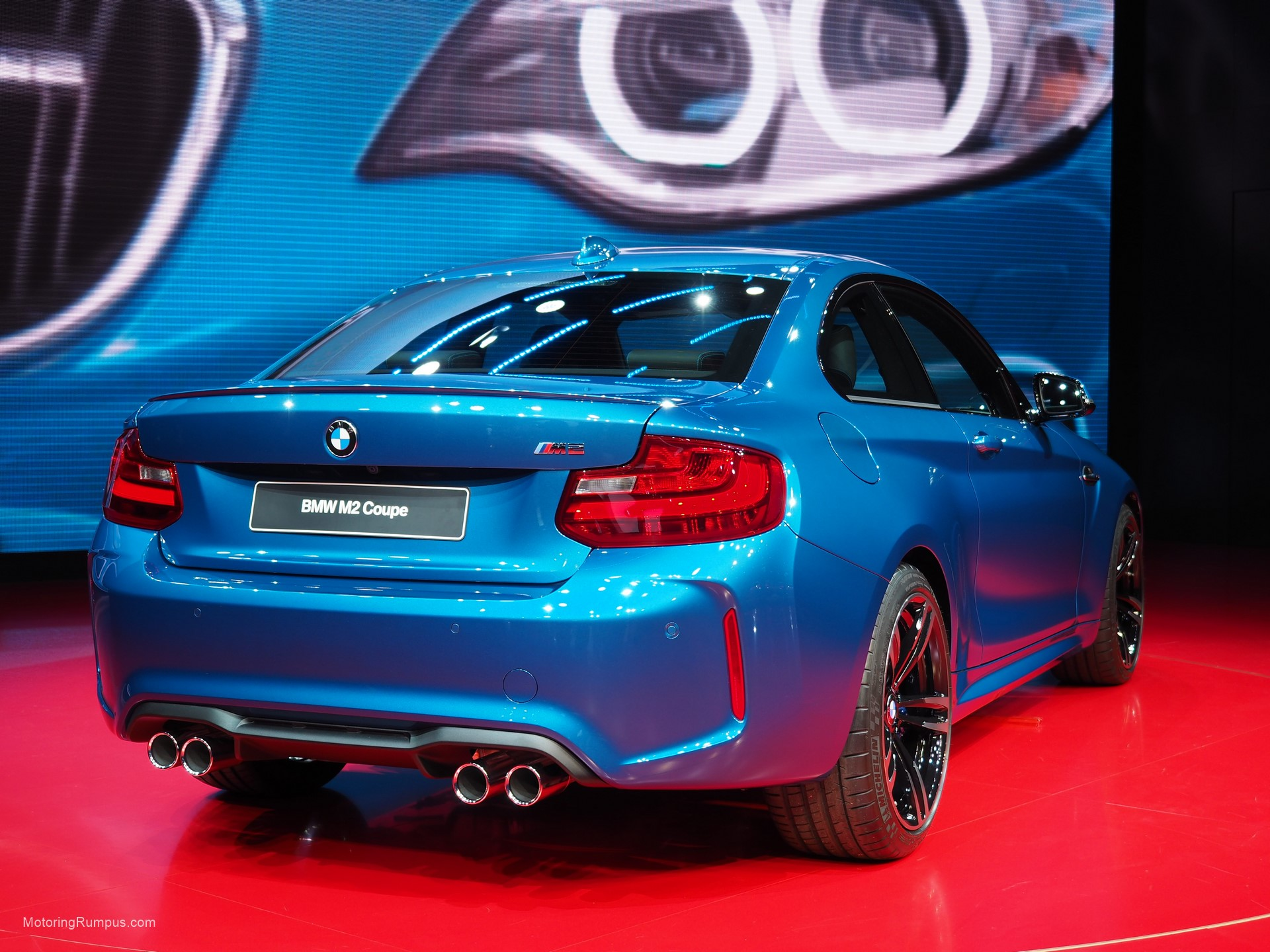 2016 NAIAS BMW M2 Rear