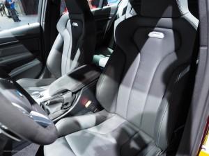 2016 NAIAS BMW M3 Front Seats