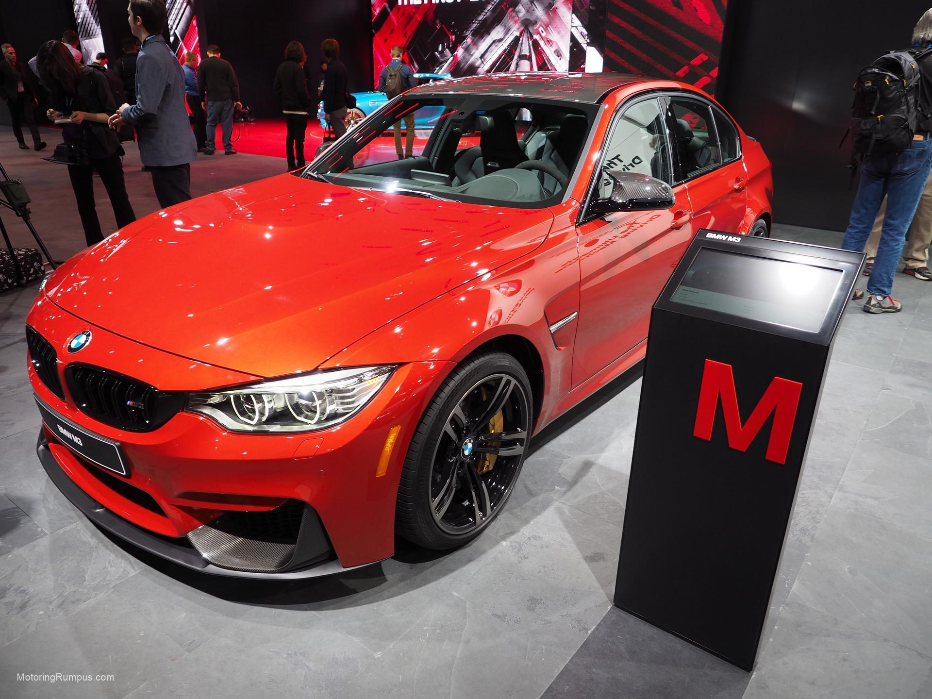 2016 NAIAS BMW M3