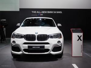 2016 NAIAS BMW X4 M40i Front