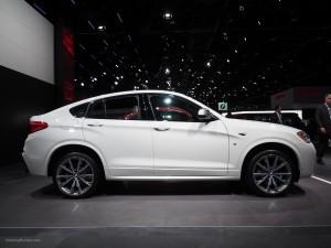 2016 NAIAS BMW X4 M40i Side