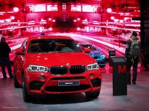 2016 NAIAS BMW X6 M