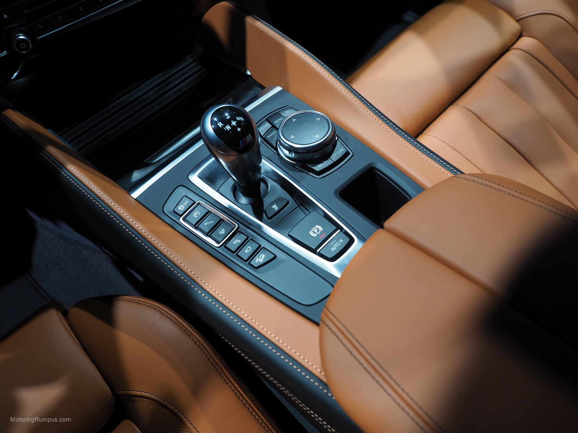 2016 NAIAS BMW X6M Center Console
