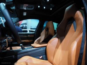 2016 NAIAS BMW X6M Front Seats
