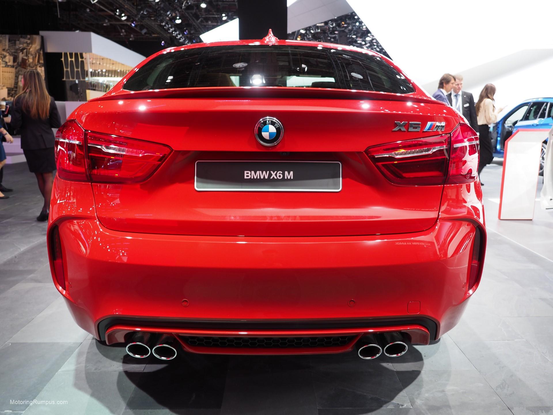 2016 NAIAS BMW X6M Rear