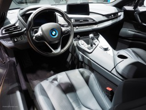 2016 NAIAS BMW i8 Interior