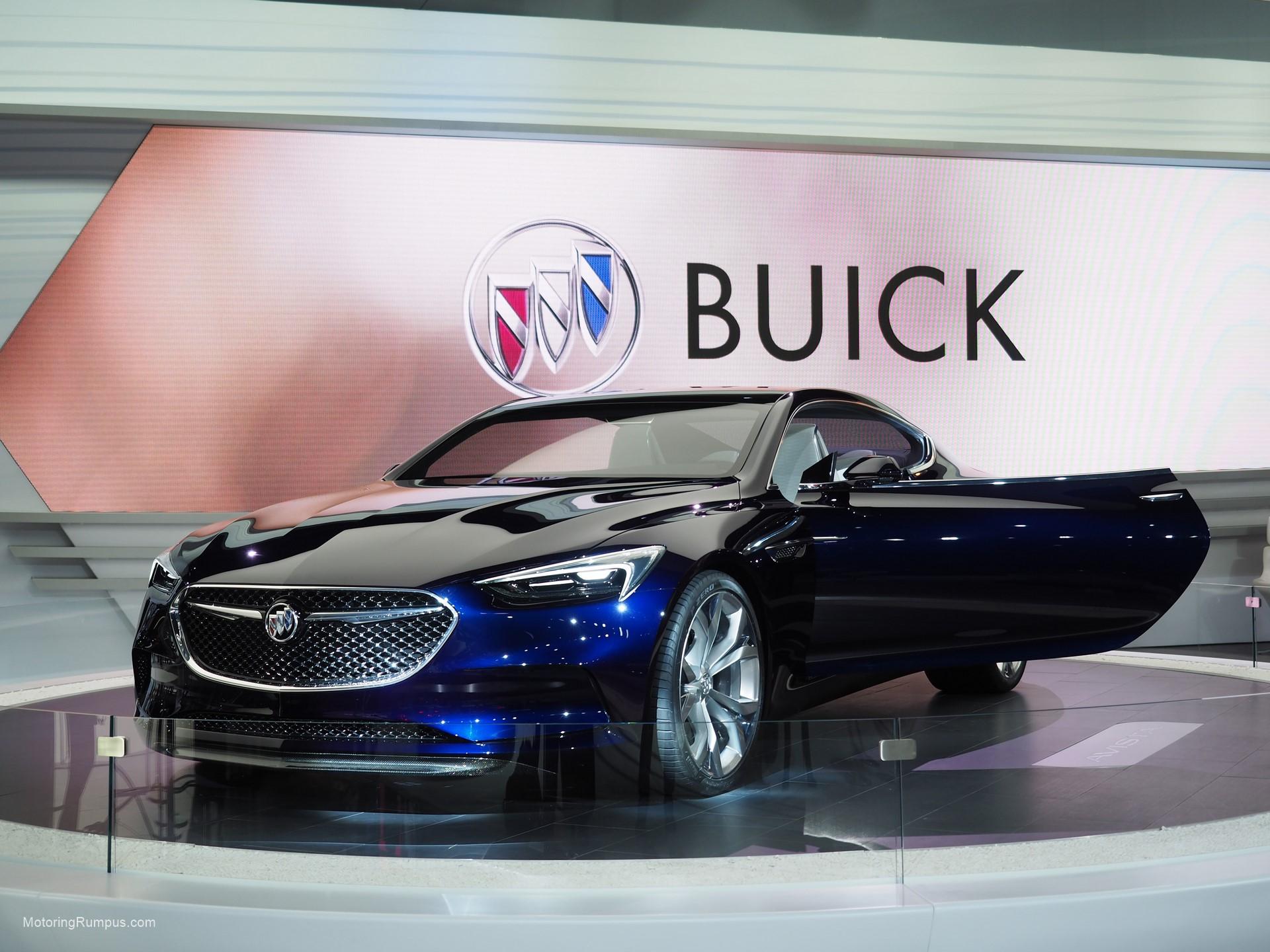 2016 NAIAS Buick Avista Concept Front