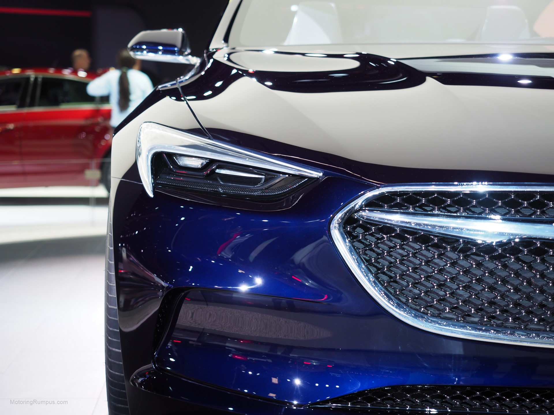 2016 NAIAS Buick Avista Concept Headlight