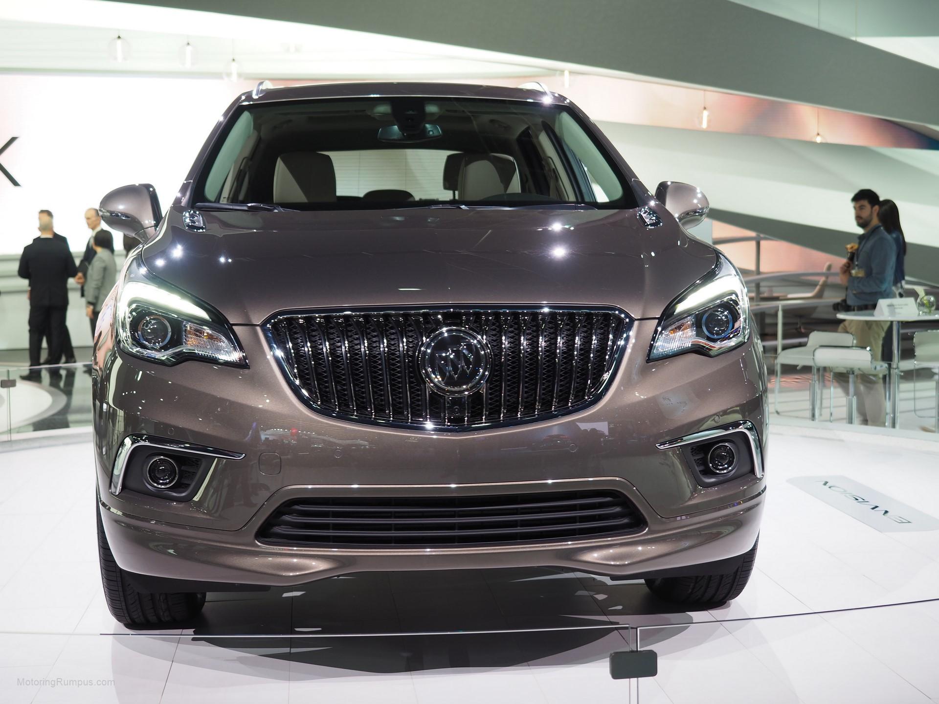 2016 NAIAS Buick Envision Front