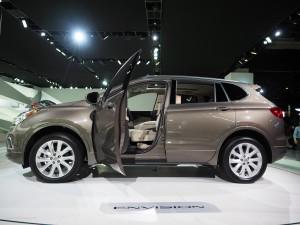 2016 NAIAS Buick Envision Interior
