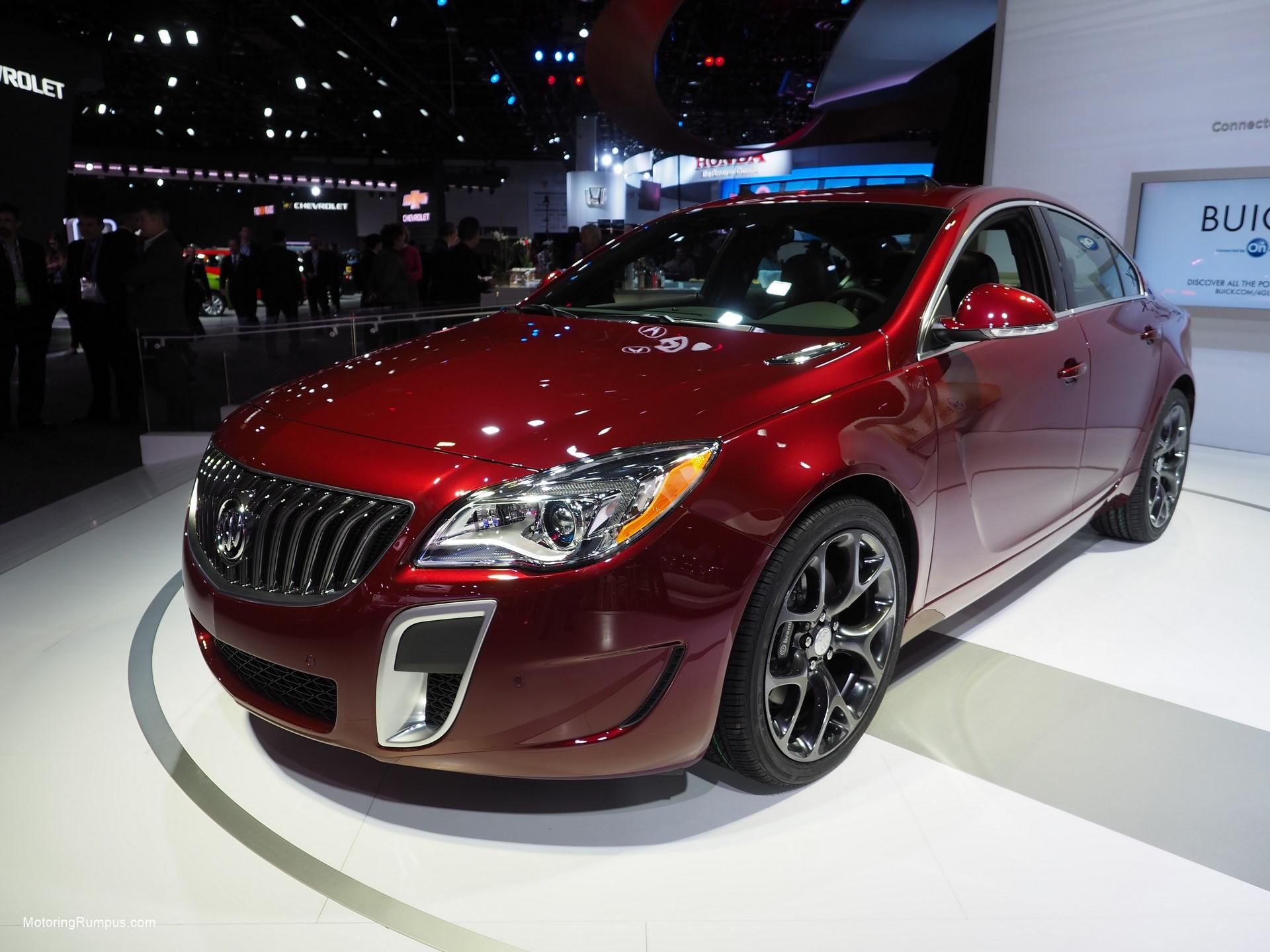 2016 NAIAS Buick Regal GS