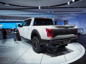 2016 NAIAS Ford 2017 Raptor Rear