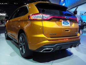 2016 NAIAS Ford Edge