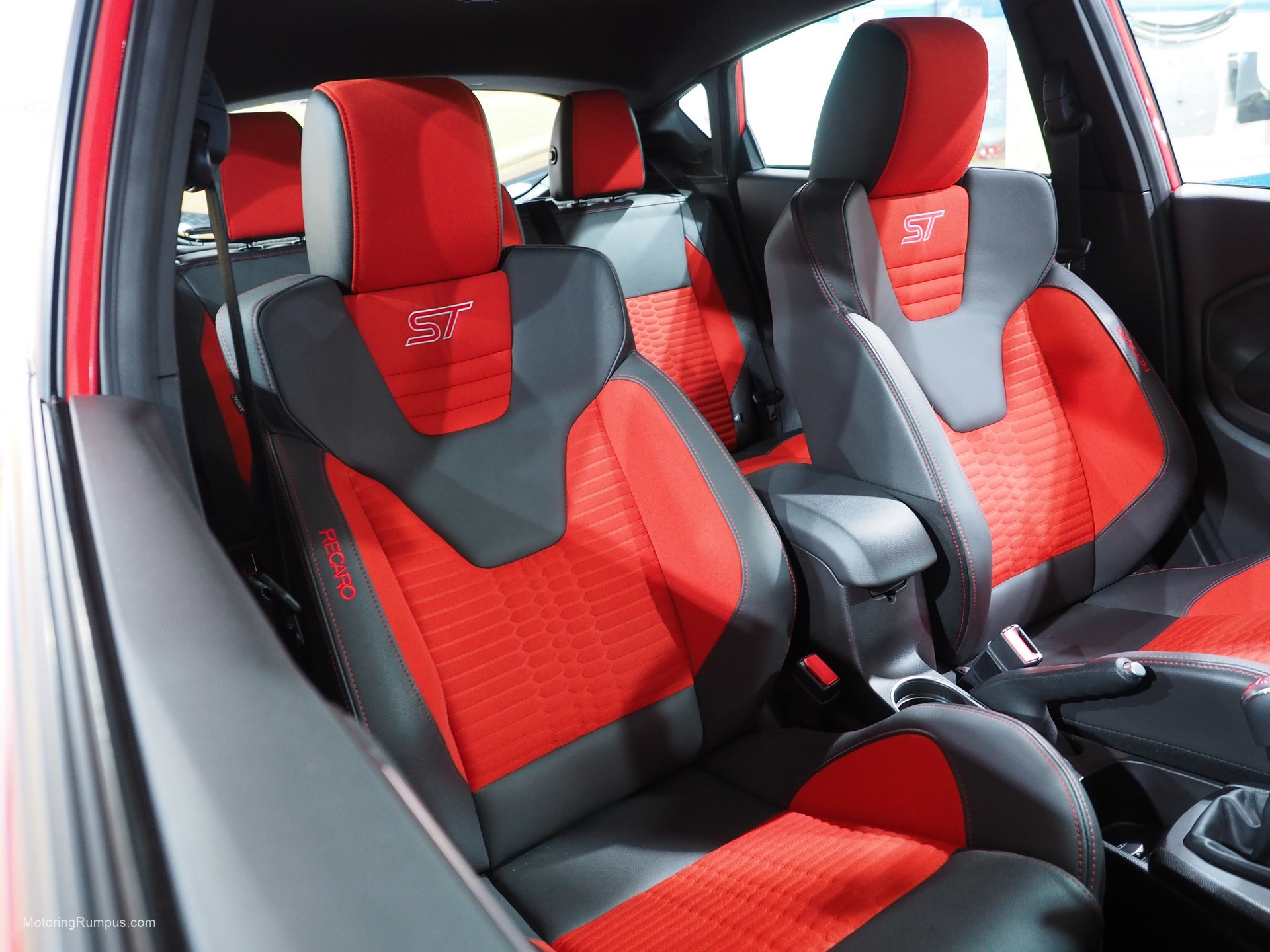 2016 Naias Ford Fiesta St Interior Motoring Rumpus
