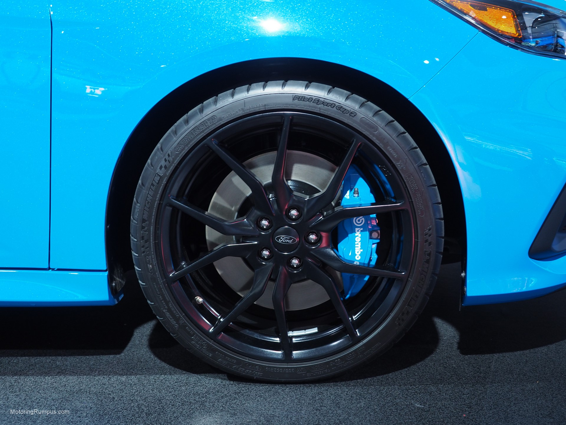 2016 NAIAS Ford Focus RS 19-inch Wheel
