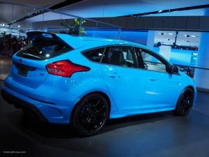 2016 NAIAS Ford Focus RS Nitrous Blue