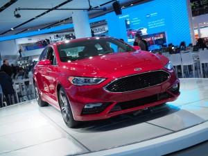 2016 NAIAS Ford Fusion Sport