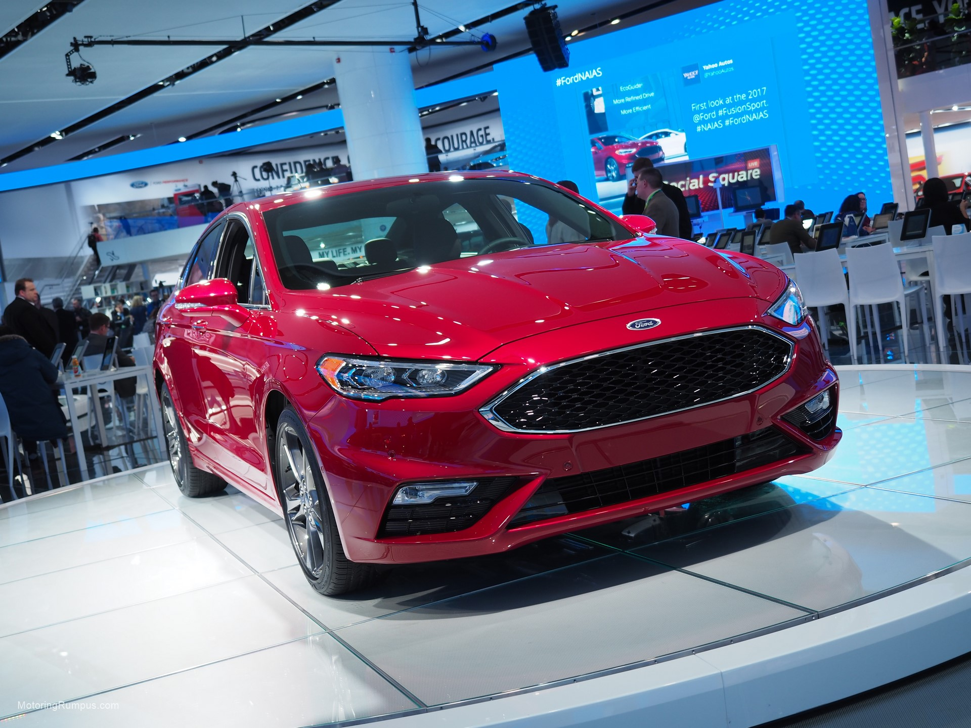 2016 naias ford fusion sport motoring rumpus. Black Bedroom Furniture Sets. Home Design Ideas