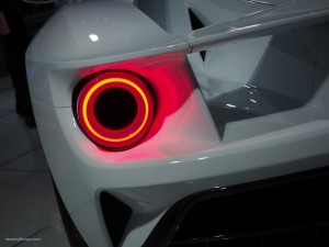 2016 NAIAS Ford GT Tail Light