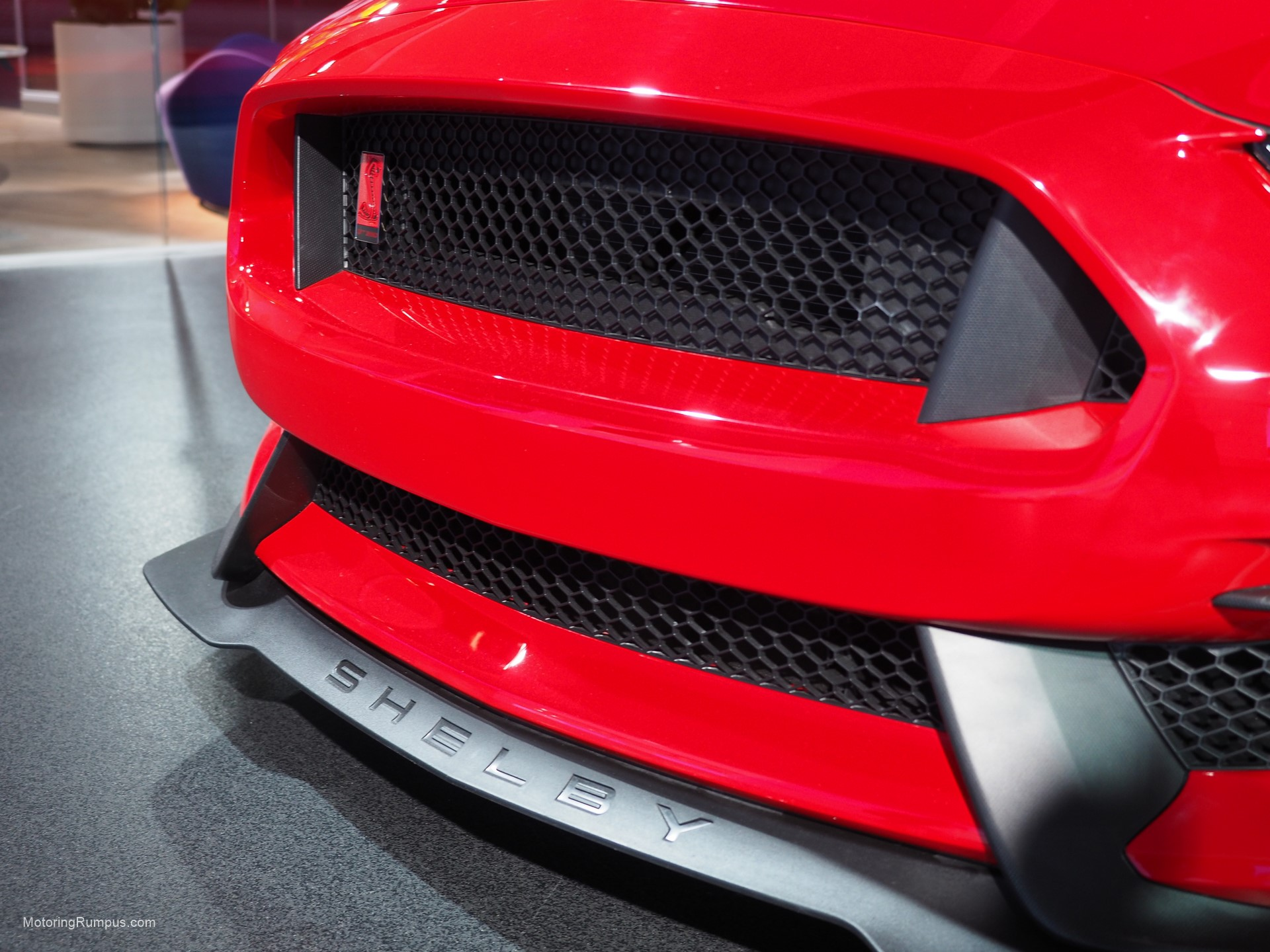 2016 NAIAS Ford Mustang Shelby GT350R Front Bumper