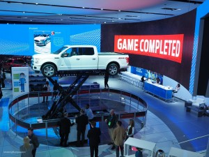 2016 NAIAS Ford Towing Game