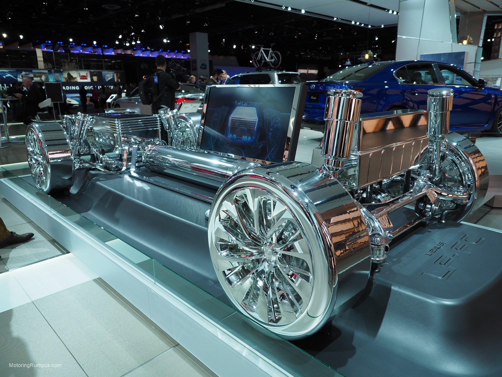 2016 NAIAS Lexus LF FC Fuel Cell