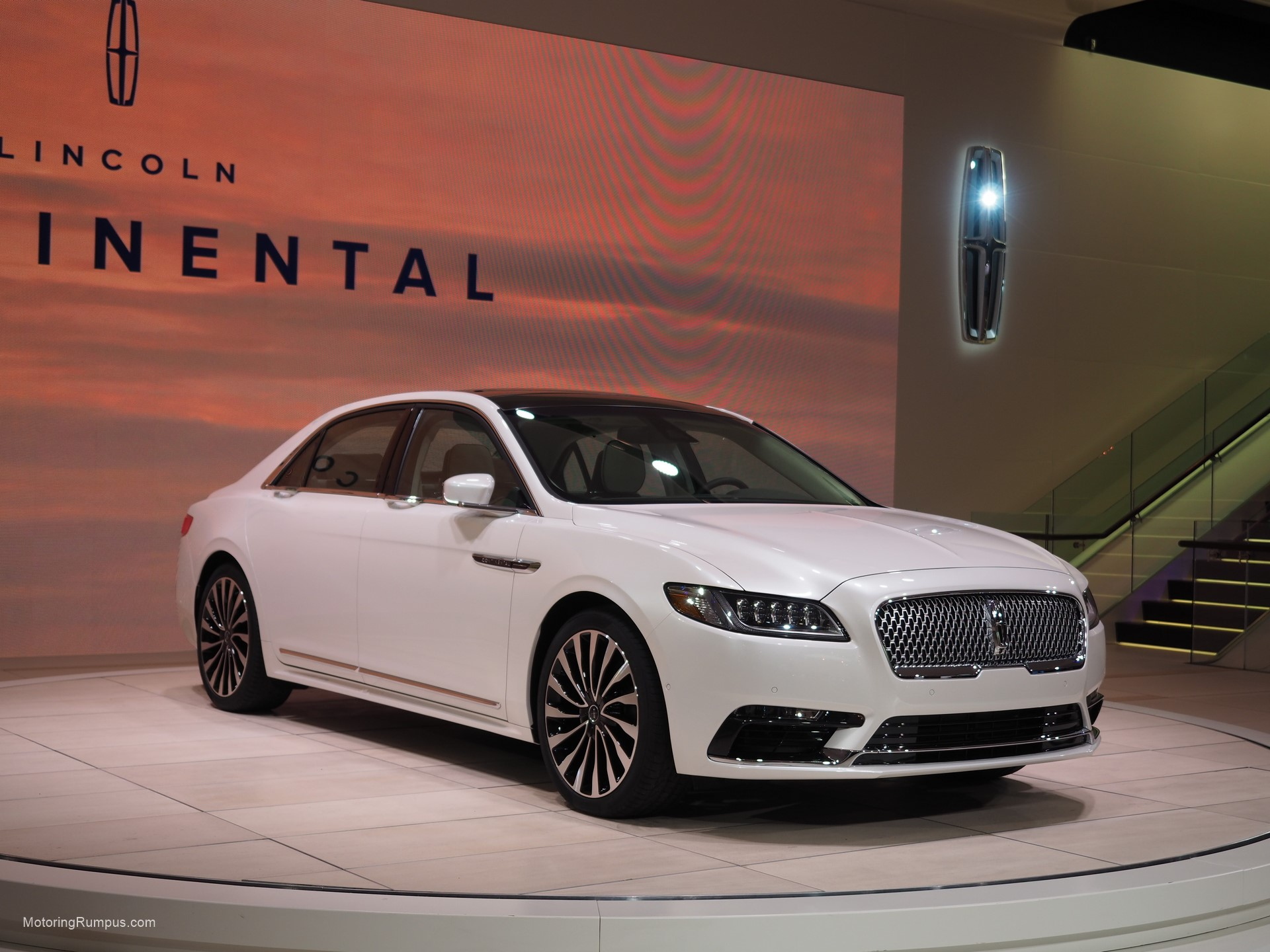 2016 NAIAS Lincoln Continental Debut