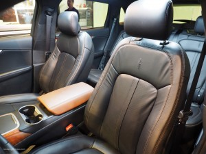2016 NAIAS Lincoln MKX Black Label Thoroughbred Interior