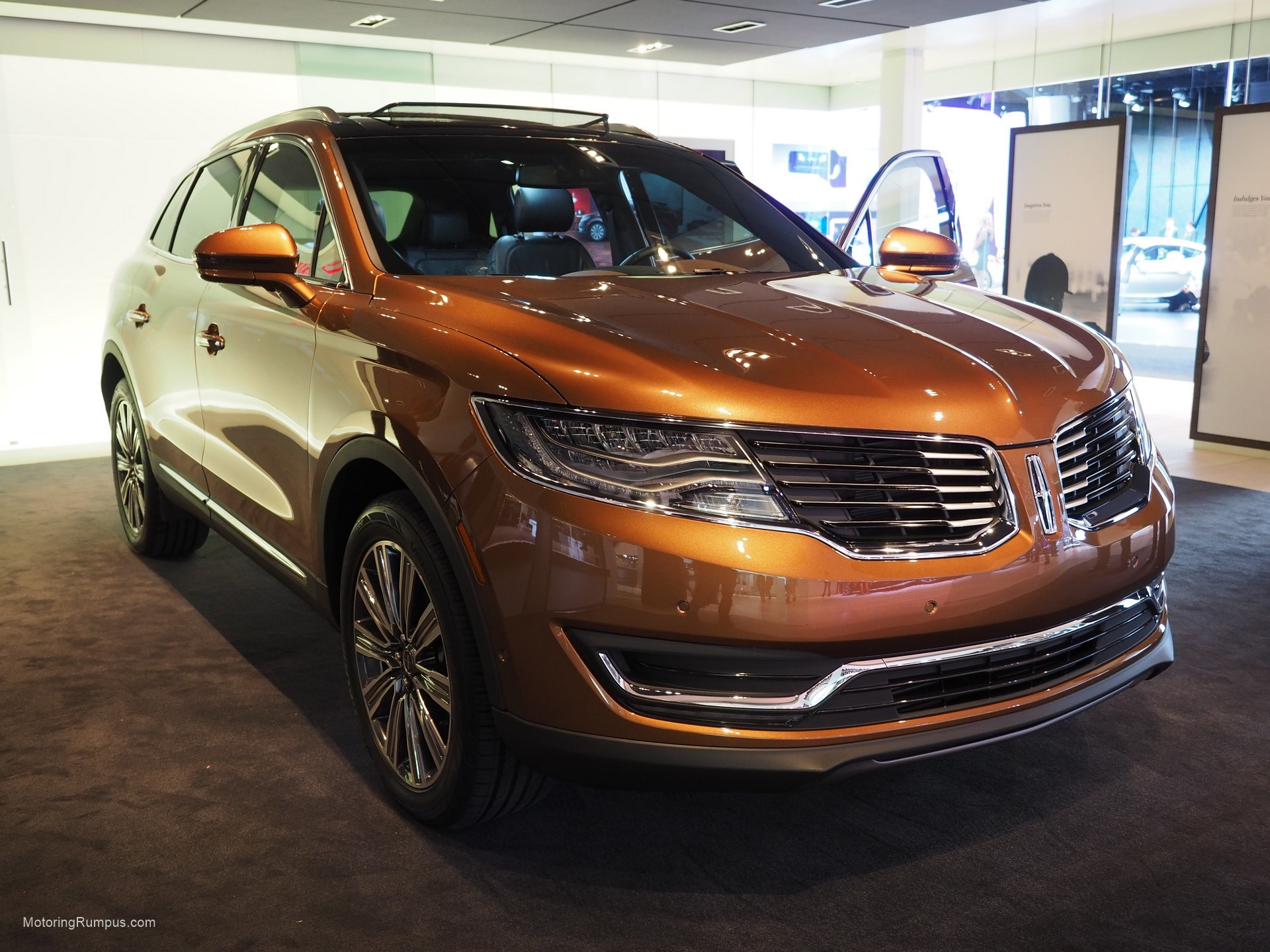 2016 Naias Lincoln Mkx Black Label Thoroughbred Jpg