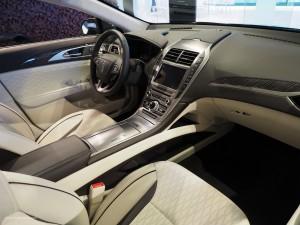 2016 NAIAS Lincoln MKZ Interior