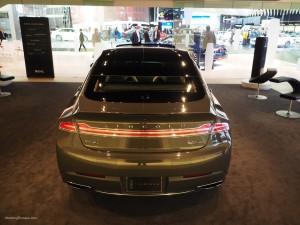 2016 NAIAS Lincoln MKZ Rear