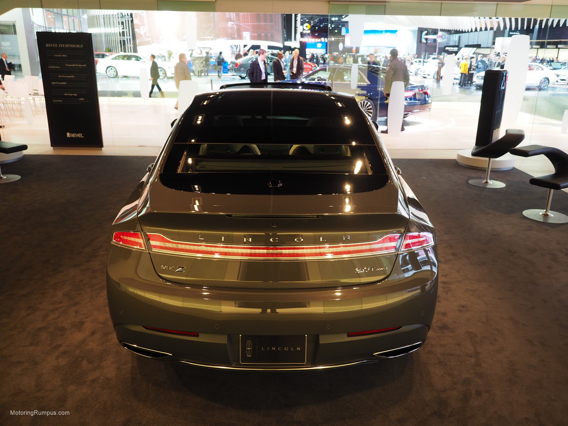 2016 NAIAS Lincoln MKZ Rear