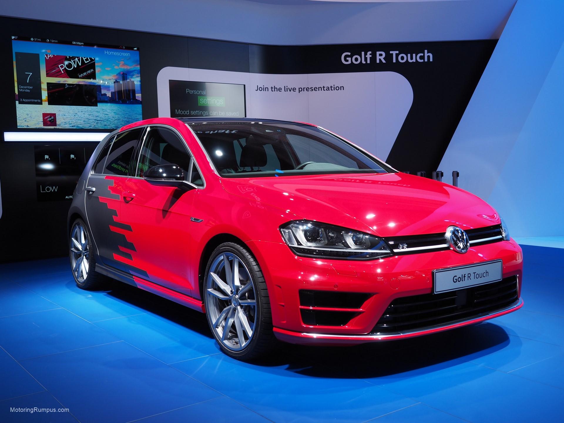 2016 NAIAS VW Golf R Touch