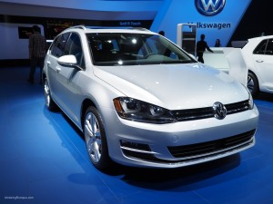 2016 NAIAS VW Golf SportWagen