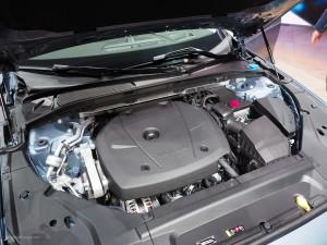 2016 NAIAS Volvo S90 T6 4-Cylinder Engine