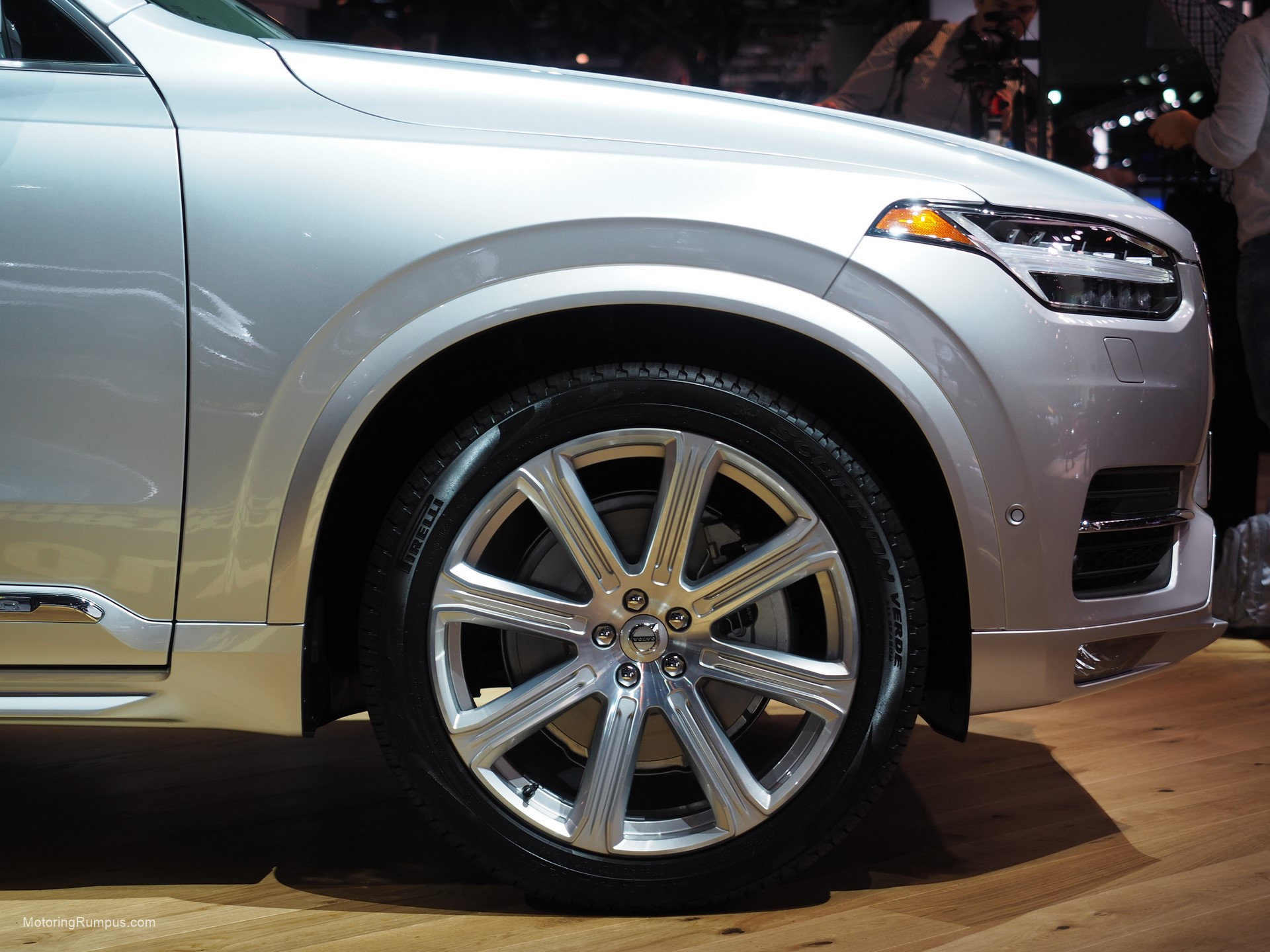 2016 Naias Volvo Xc90 21 Inch Wheel Motoring Rumpus