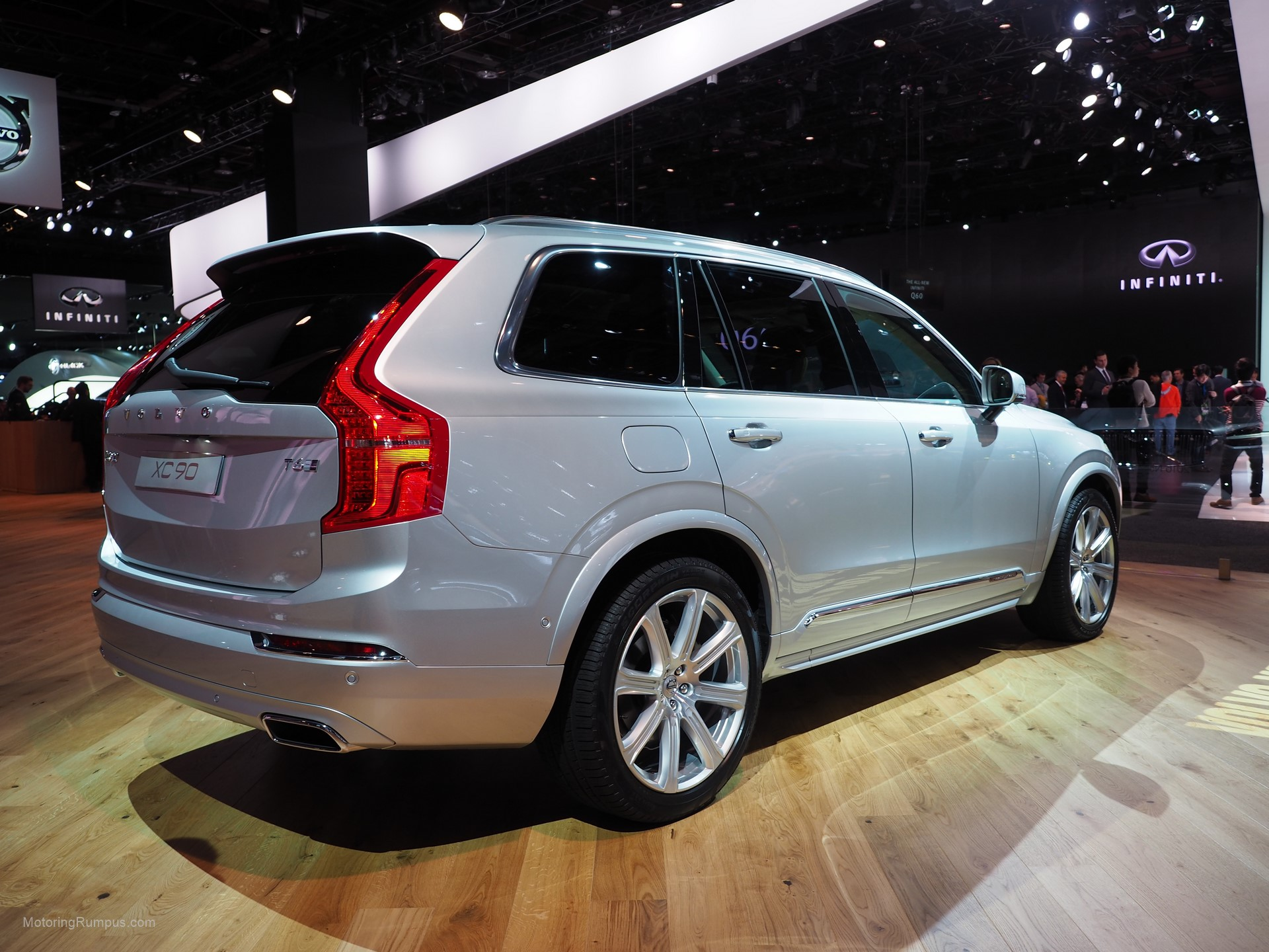 2016 naias volvo xc90 t6 inscription rear motoring rumpus. Black Bedroom Furniture Sets. Home Design Ideas